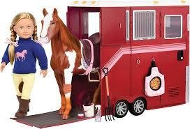 Our Generation Mane Attraction Horse trailer