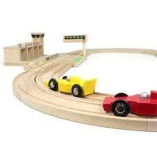 Pintoy Assorted Wooden Racing Cars