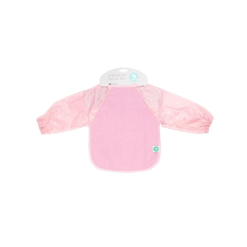 All4Ella Long Sleeve Star Bib - Pink