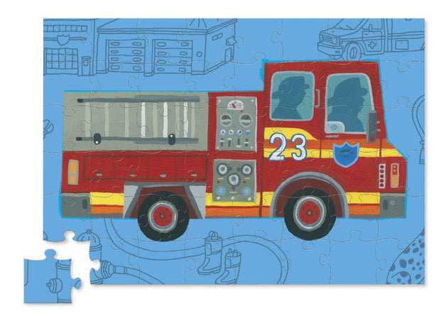 Crocodile Creek | Fire Truck Puzzle