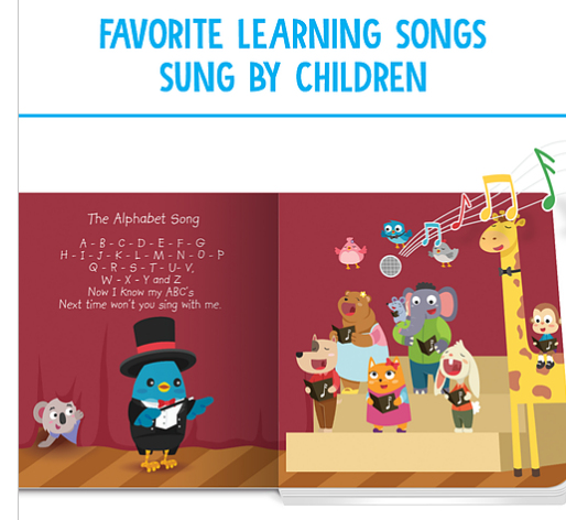 Ditty Bird Learning Songs 123