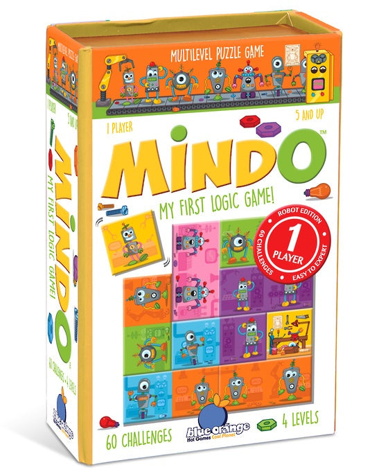 Blue Orange Games: Mindo Robot - My First Logic Game