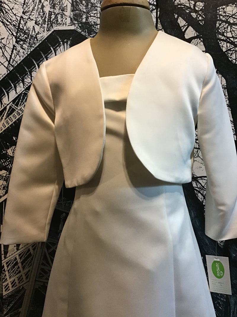 Bamboo | Children's Wear Ivory Bolero Jacket