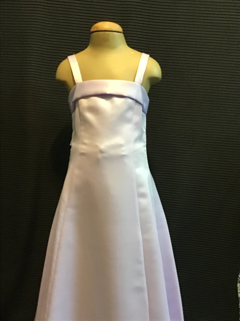 Bamboo | Girls Bridesmaid Lilac Dress