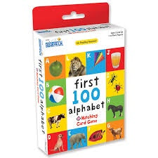FIRST 100 ALPHABET MATCHING GAME