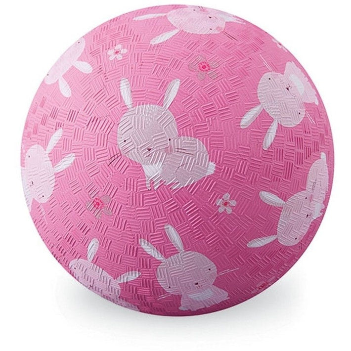 "Crocodile Creek | 7"" Playground Ball - Bunnies"