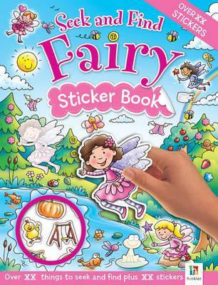 Seek and Find: Fairy Sticker Book (New Format)