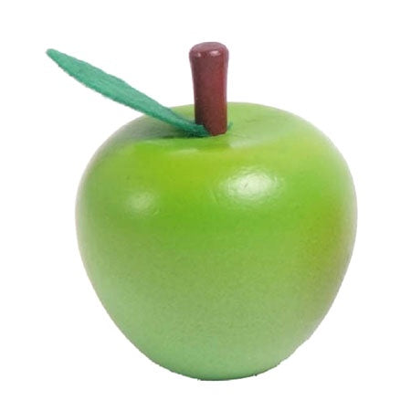 Wooden Green Apple