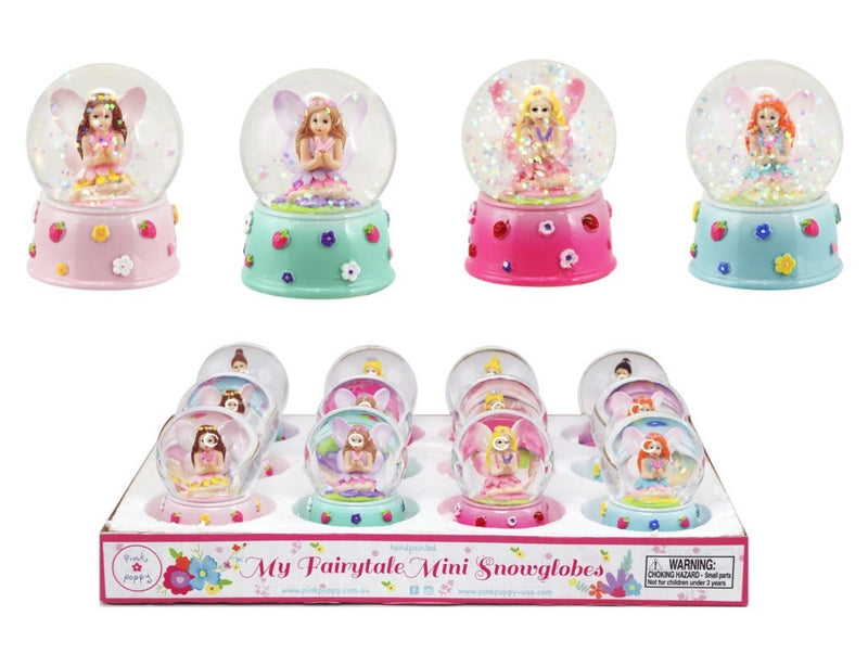 Mermaid - Mini Snow Globe | Pink Poppy