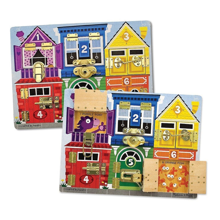 Melissa and Doug | Latches Board