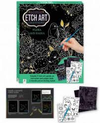 Etch Art Mini Creations - Flora and Fauna