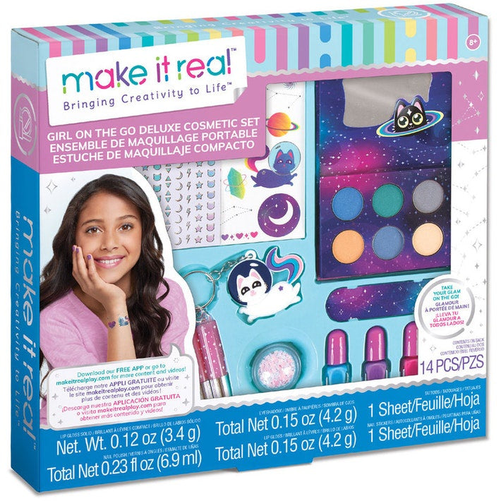 Make It Real Girl On The Go Deluxe Cosmetic Set