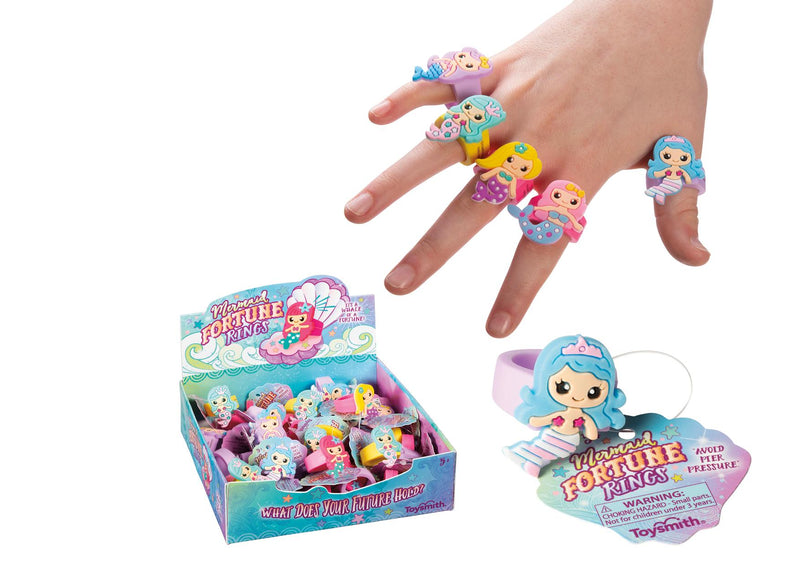 Mermaid Fortune Rings