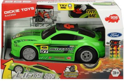 Dickie Toys Racing Series - Ford Mustang - Wheelie Raiders