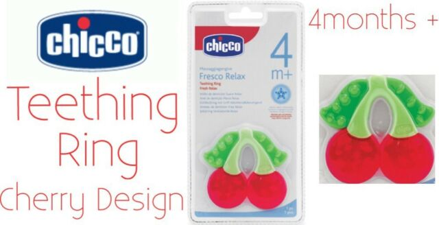Chicco Teether - Fresh Relax Ice Cream - Cherry