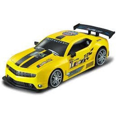Touring Car Chev Camaro Yellow - Remote control vehicle