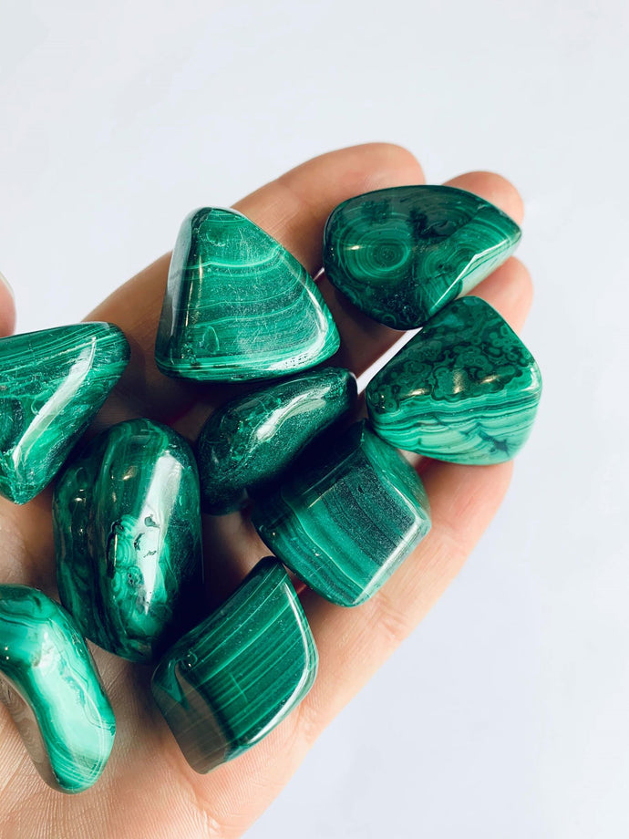 Tumbled Malachite