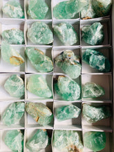 Load image into Gallery viewer, Raw Emerald Fluorite