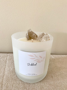 XL - Watermelon Scented - Handcrafted Coco Soy Candle.