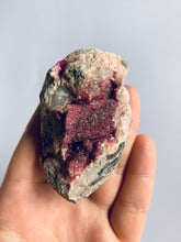 Load image into Gallery viewer, Pink Dolomite/Cobalt Calcite