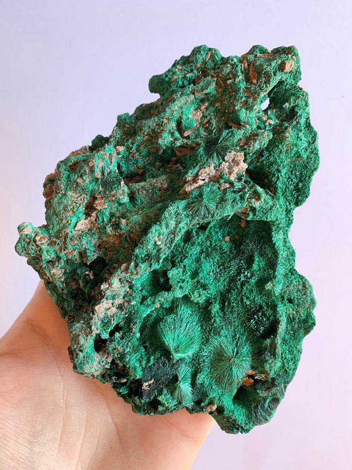 Natural Silky Malachite