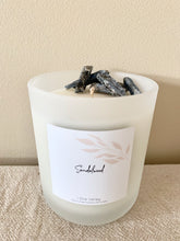 Load image into Gallery viewer, XL - Sandalwood Scented - Handcrafted Coco Soy Candle.