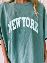 Mint Green New York T-Shirt