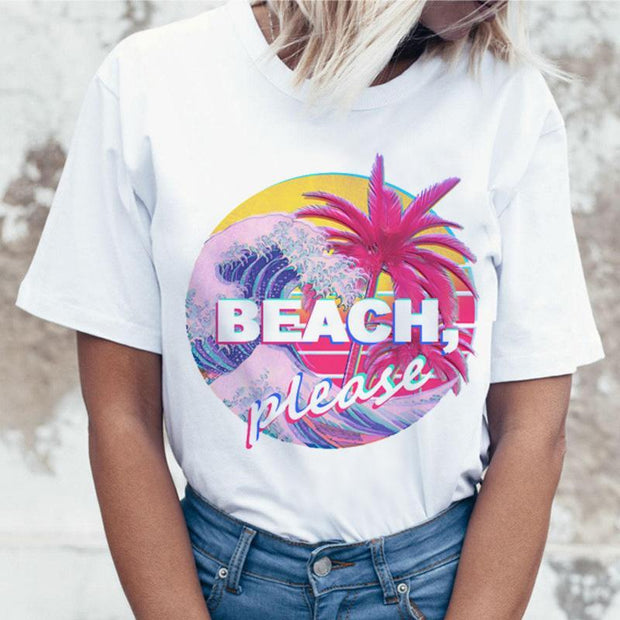 Women's Summer Print T-Shirt