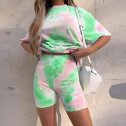 Women's tie-dyed casual Sets
