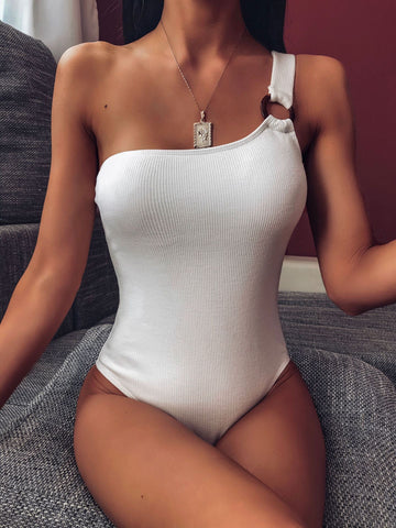 Women Character Shoulder Ring One Pieces