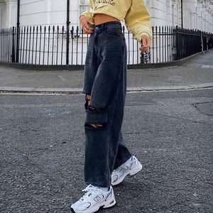Loose casual jeans