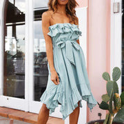 Off Shoulder Fashion Mini Dress