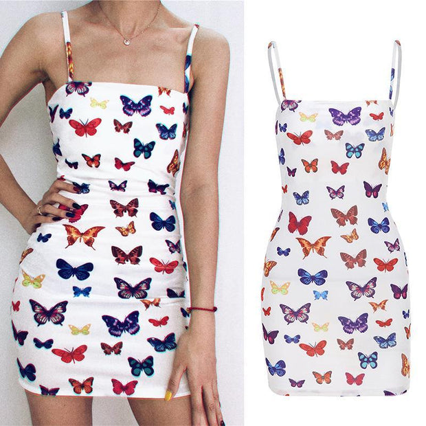 Sexy And Stylish Butterfly Mini Dresses