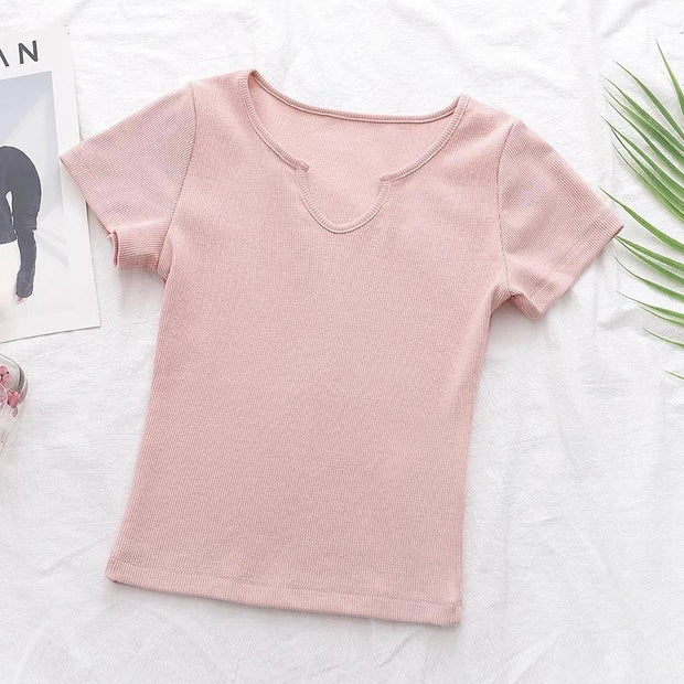 Ashlyn Basic Crop Top