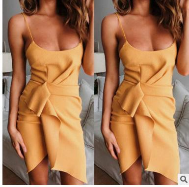 LAZULI MIDI DRESS - YELLOW