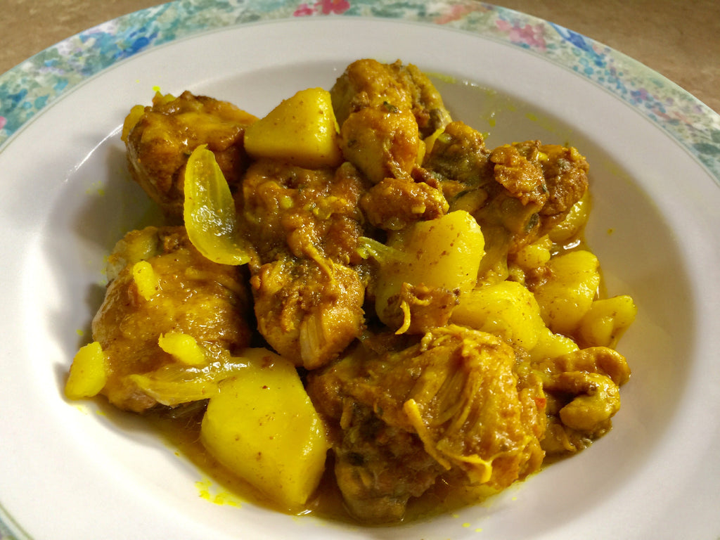 Jamaican Curry Chicken by Jamaican Travel and Culture