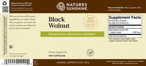 Black Walnut helps maintain the intestinal system and supports the immune system in its battle against invaders.