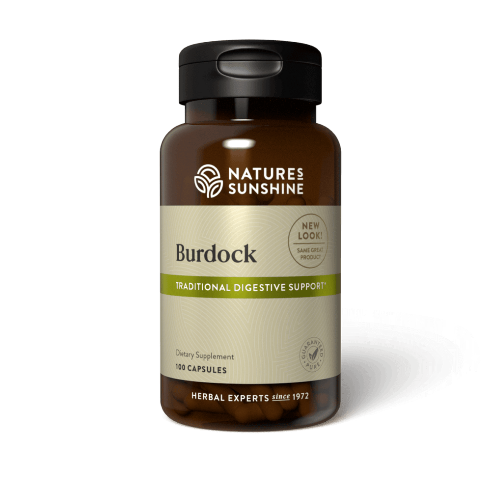 Improve your respiratory, digestive and immune systems with the blood-purifying compounds in burdock. It helps protect the liver against toxins.