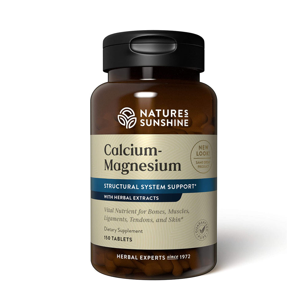 Nature's Sunshine Calcium Magnesium SynerPro assists the body by strengthening the teeth, bones, skin, and tendons. Calcium Magnesium SynerPro also encourages proper circulation and balances pH levels.