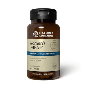 Our DHEA-F formula (for women) supports energy, sleep, joint function, metabolism, mental function, and more. Its unique herbal base nourishes the female glandular system.