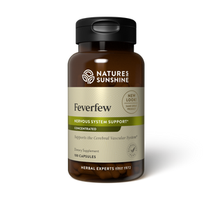 Load image into Gallery viewer, High-parthenolide Feverfew Concentrate provides nutrition to the central nervous system.