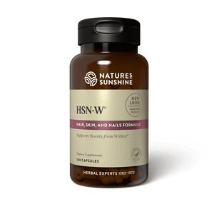Our unique herbal formula HSN-W enhances skin tone and helps strengthens hair, skin and nails.