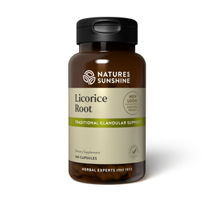 Licorice Root has a reputation for helping the entire body maintain balance. It supports the glandular system, specifically the adrenal glands. It may also help the liver.