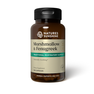 This herbal combination nutritionally supports the respiratory system, specifically strengthening mucous membranes.