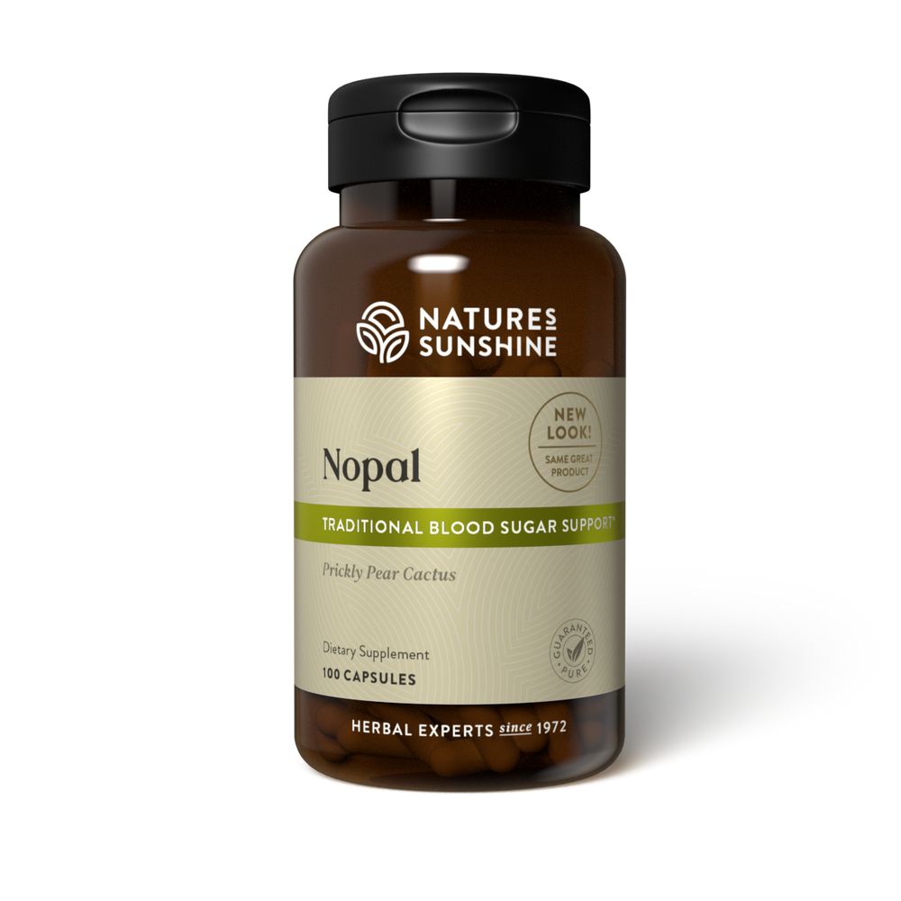 Help support the digestive system and maintain blood sugar balance with Nature's Sunshine Nopal.