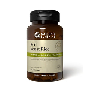 Red Yeast Rice helps support the production of good cholesterol in the liver and offers support to the circulatory system.