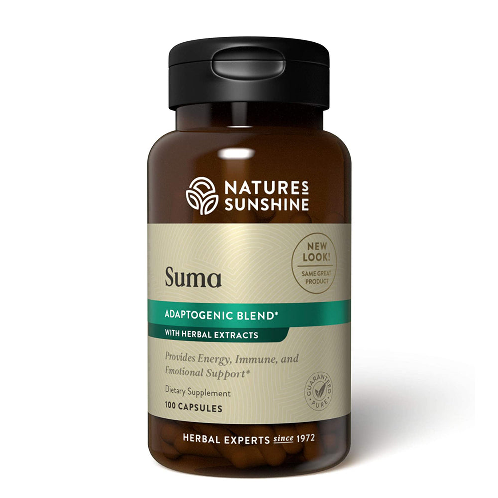 Increase energy and support your immune system with SUMA Combination, a blend of six powerful, adaptogenic herbs.