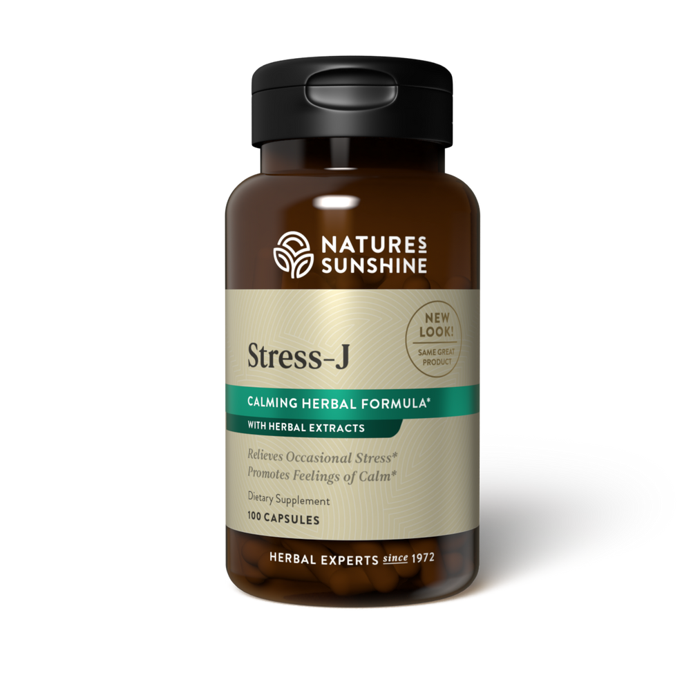 This herbal formula promotes feelings of calm and helps with occasional stress. It also supports digestion.
