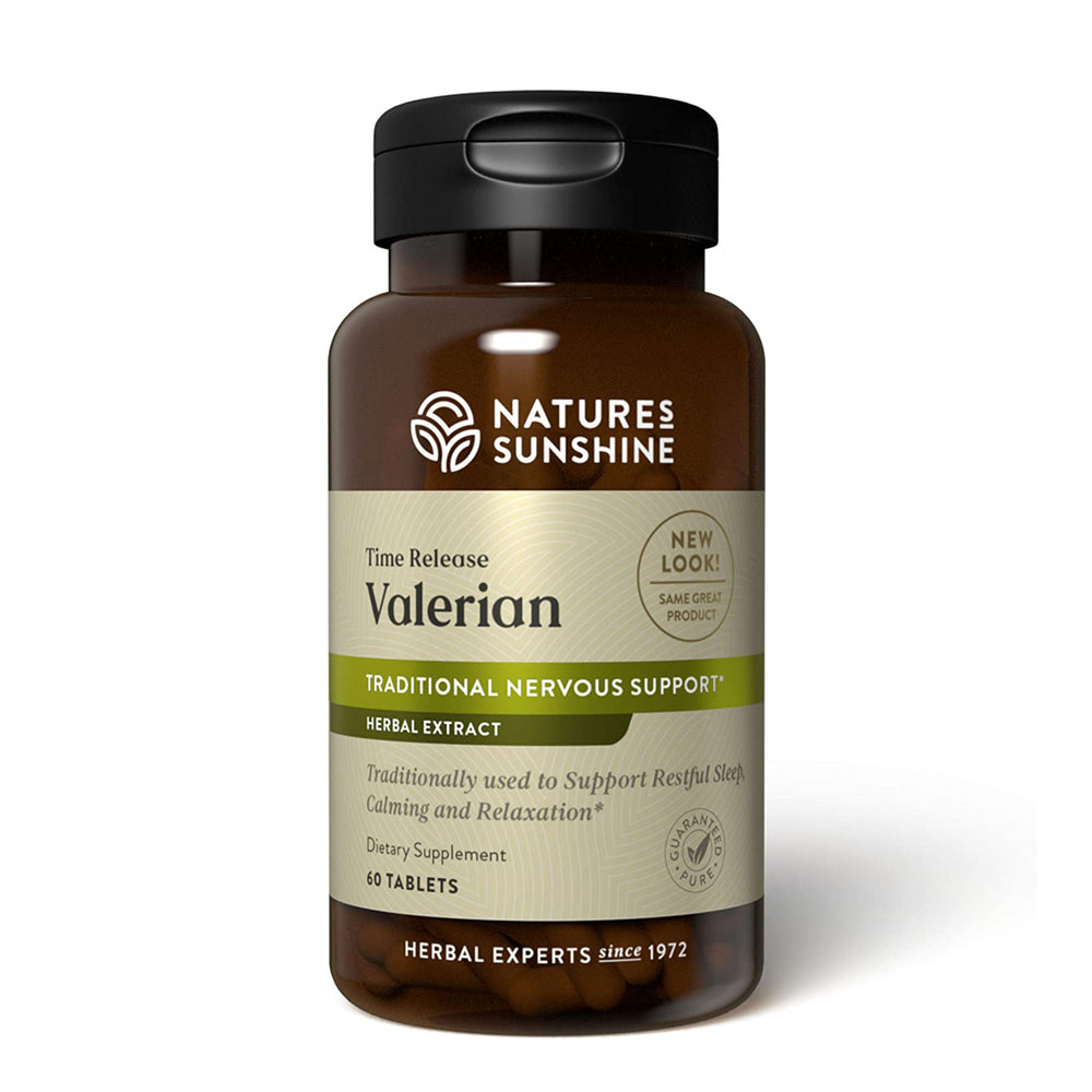 Valerian Root Extract Time Released (60 tabs)