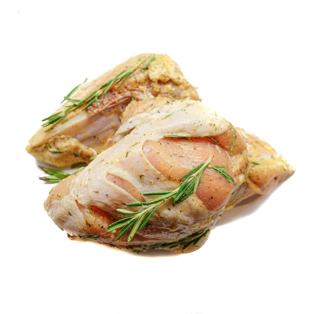 Marinated Rosemary Chicken Breast Bone-in